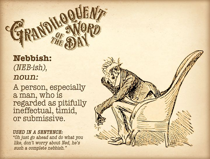 Grandiloquent Word Of The Day | Word of the day, Uncommon