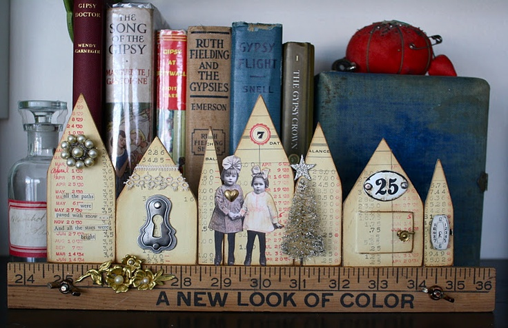 Cute little doodad for your bookshelf!