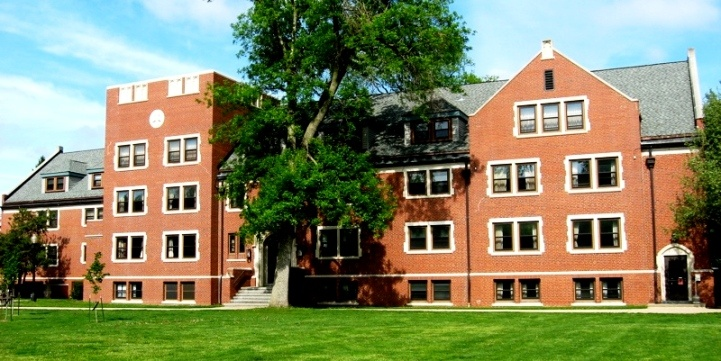 Younker Hall, Grinnell College, new home for my kid
