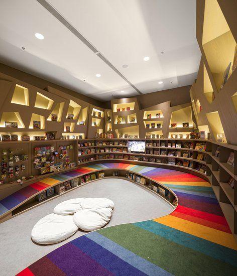 Saraiva Bookstore, Rio de Janeiro, 2013 - Studio Arthur Casas #Interiorismo #corporativo.
