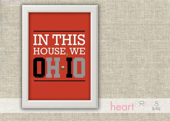Ohio State Wall Art 71 best ohio state images on pinterest | ohio state university