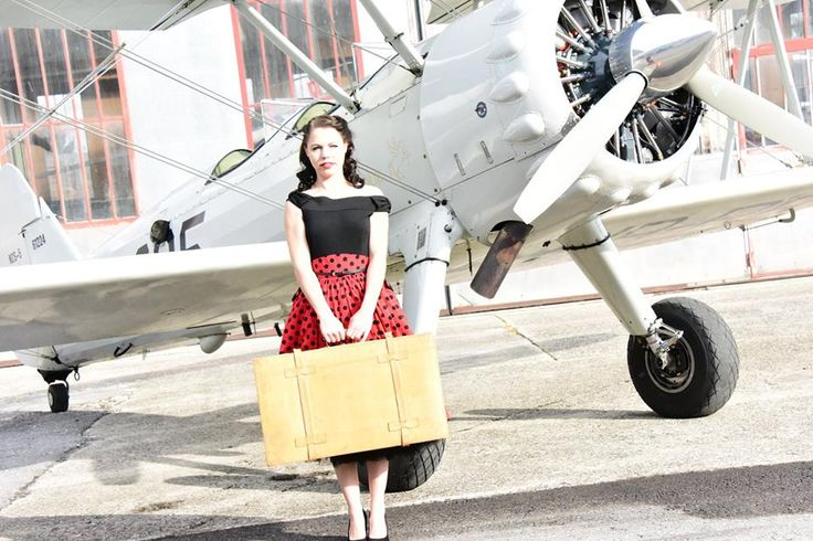 Vintage Shooting with Sherry and Jack Frei Outfit: Lindy Bop