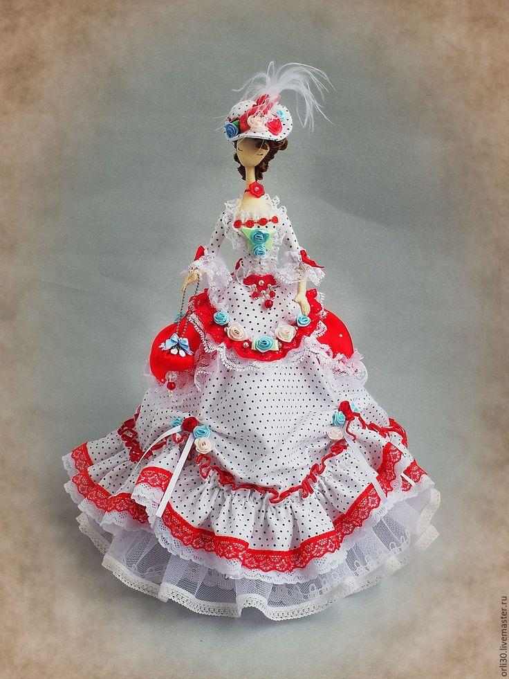 Купить Текстильная кукла.Тряпиенса.Наташа - ярко-красный, тряпиенса, тряпиенс, корейские тряпиенсы