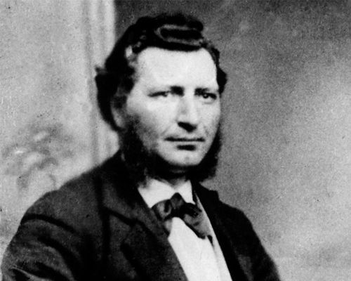 Louis Riel was a Métis leader and defender of French Canadian communities threatened by settlement expansion in the West. He led two resistance movements in Canada, the Red River Rebellion, in 1869, and the North-West Rebellion, in 1885. Patriot to some, traitor and murderer to others, he was hanged in 1885, after a sensational trial that divided opinions in Canada. His struggle led to the creation of Manitoba in 1870.