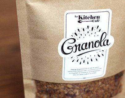 Branding for Le Kitchen Café's granola