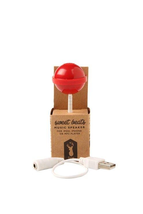 novelty speakers RED LOLLIPOP