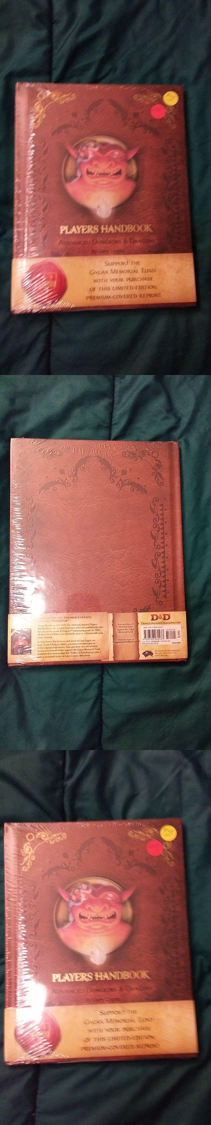 Players Handbooks 158712: Dandd Adandd Premium Players Handbook Hardcover Limited Sealed 2012 Gygax Fund -> BUY IT NOW ONLY: $47.99 on eBay!