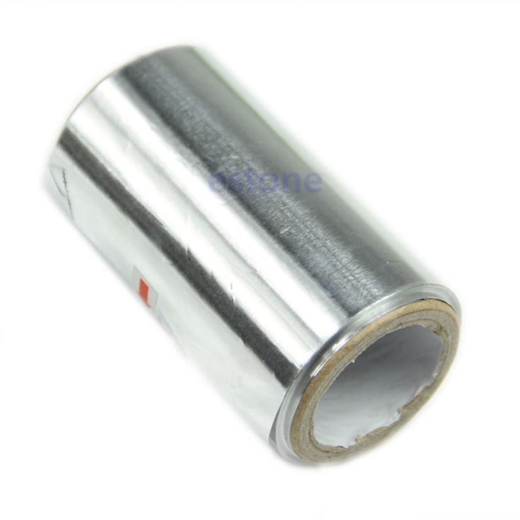 U119 Free Shipping 6M Art Hair Nail Tinfoil Aluminum Foil Thick Hairdressing Standard New