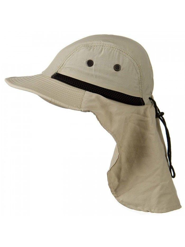 Stone Beige Outdoor Sun Flap Hat Ch11k0r6qux Hats For Men Mens Hats Fashion Flap Hat