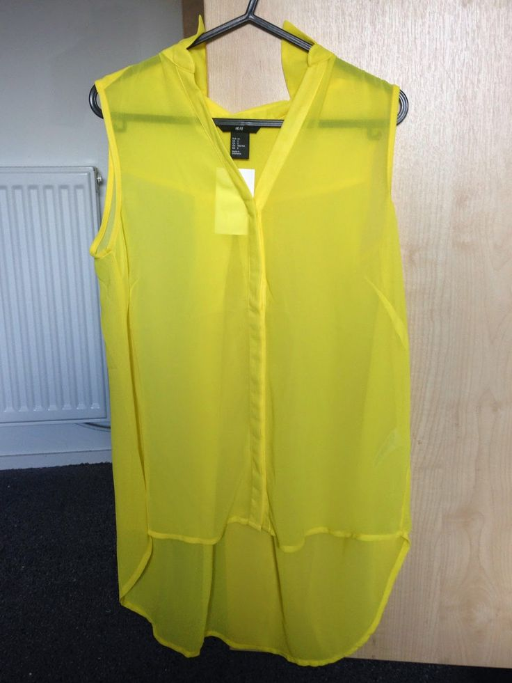 The £7.99 Sleeveless Shirt