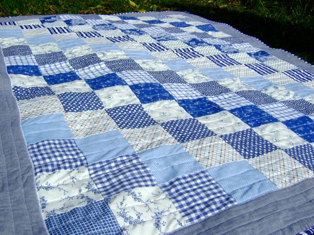 10 best Diagonal quilt pattern images on Pinterest | Kid quilts ... : blue white quilt patterns - Adamdwight.com