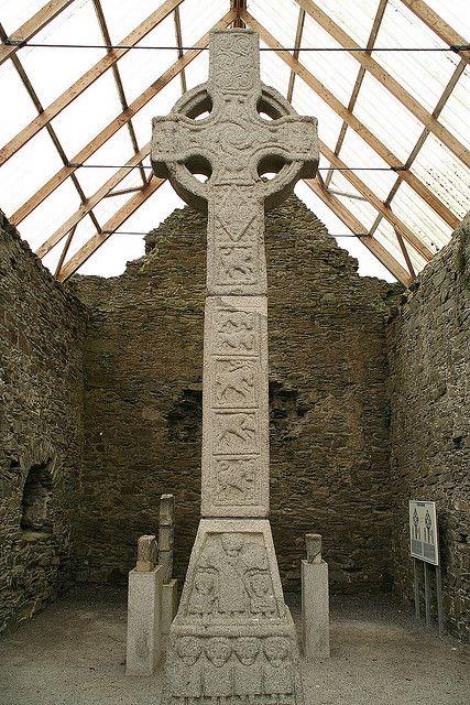 High Cross, Moone, County Kildare