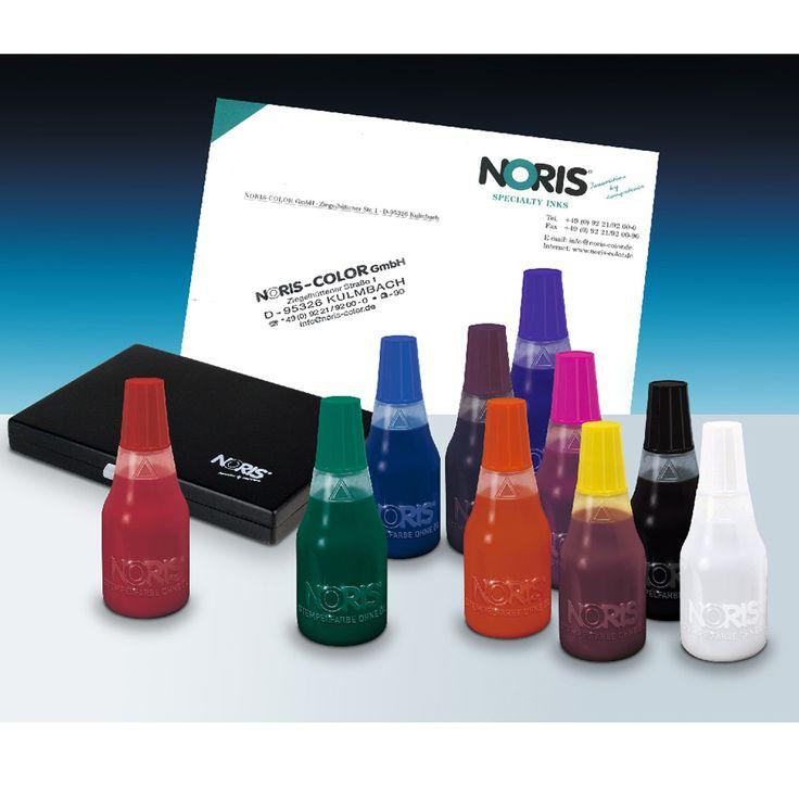 Stempel met speciale inkt voor op eieren te stempelen. Noris 110 S