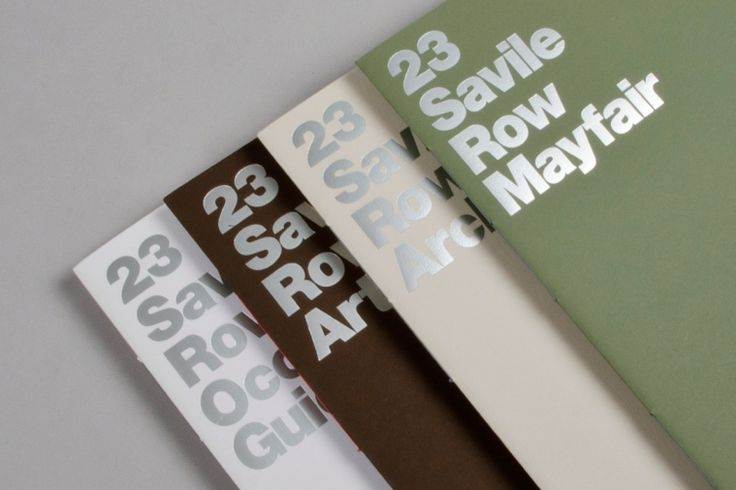 23 Savile Row. A matter for materials – dn&co.