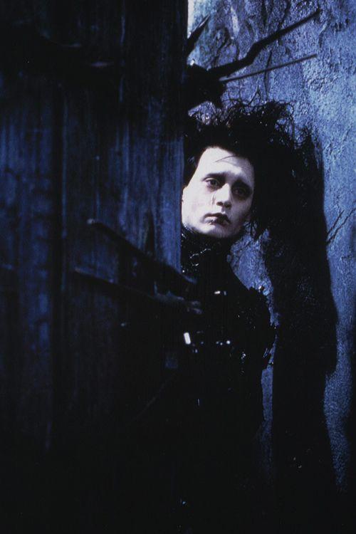 Johnny Depp as Edward in Tim Burton's 'Edward Scissorhands' 1990.
