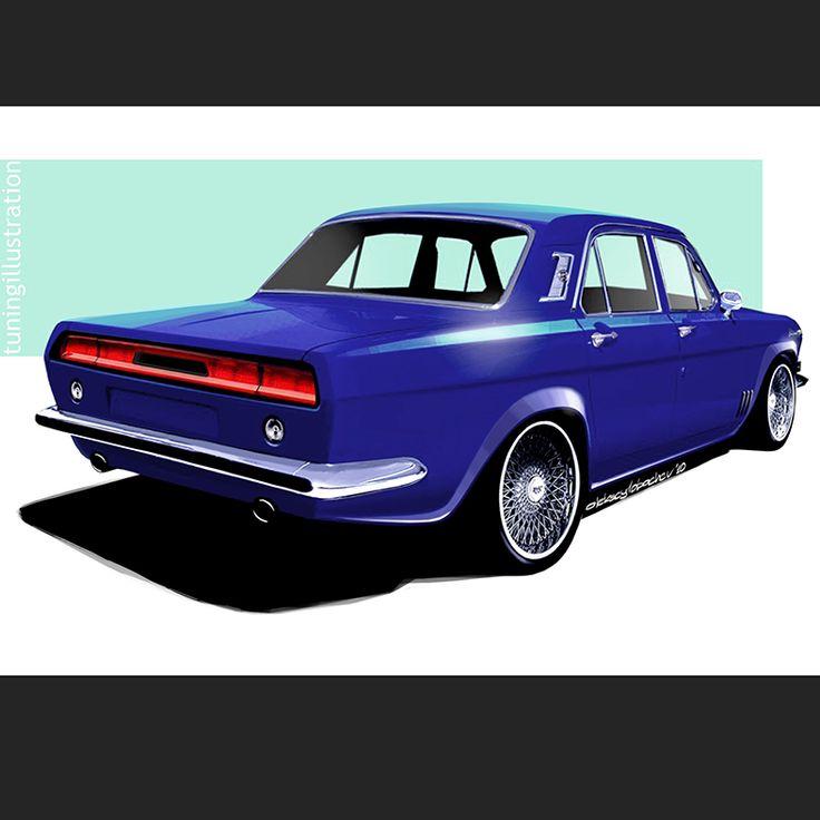 #tuningillustration #volga #tuning #car #carsketch #carillustration #auto #sketch