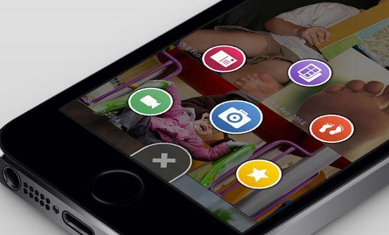 www.lovliapp.com - aplikacja mobilna iOS umożliwiająca rodzicom dzielenie się zdjęciami, filmami i innymi wydarzeniam z życia dziecka z najbliższymi // iOS mobile app that allows parents to share photos, videos and events from their child's life with family and friends
