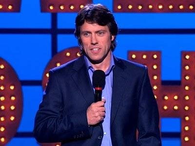 John Bishop - Me and my mum share a joint love for him.