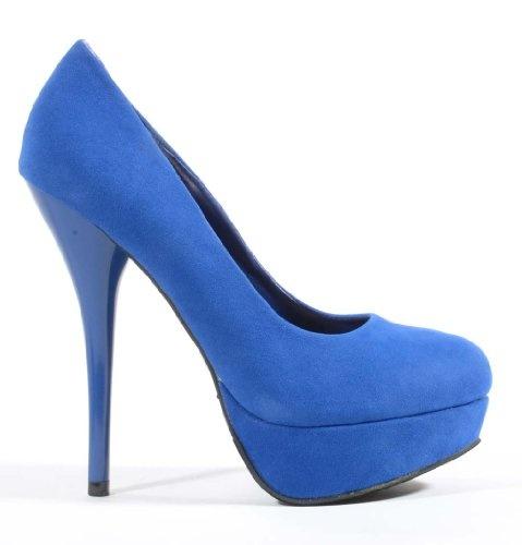 03bffc8fbf8b Blue Heels  Royal Blue Heels Amazon