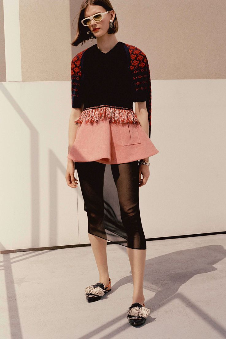 Carven Resort 2018 Fashion Show Collection
