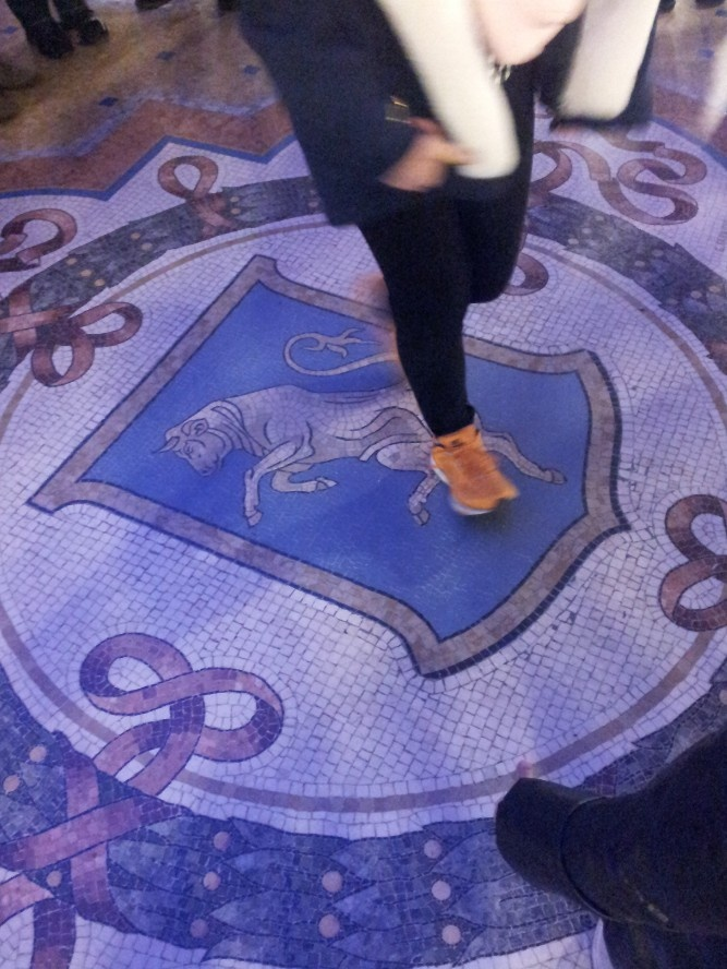 step on the taurus testicles and this it will bring you luck  29.12.2012.  thsi is very old superstition in MIlan .       try it : -)