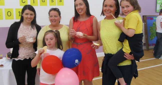 Dooish National School held its annual Ice Cream Day in aid of Down's Syndrome Ireland recently. A total of €637.41 was raised and pupils, parents and friends were ...
