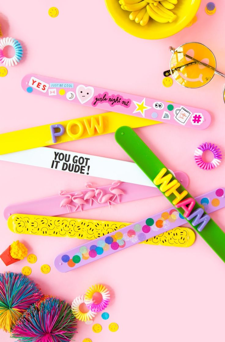 14 DIYs That Will Remind You of Your Childhood | Slap Bracelet | Her Campus | http://www.hercampus.com/diy/14-diys-will-remind-you-your-childhood