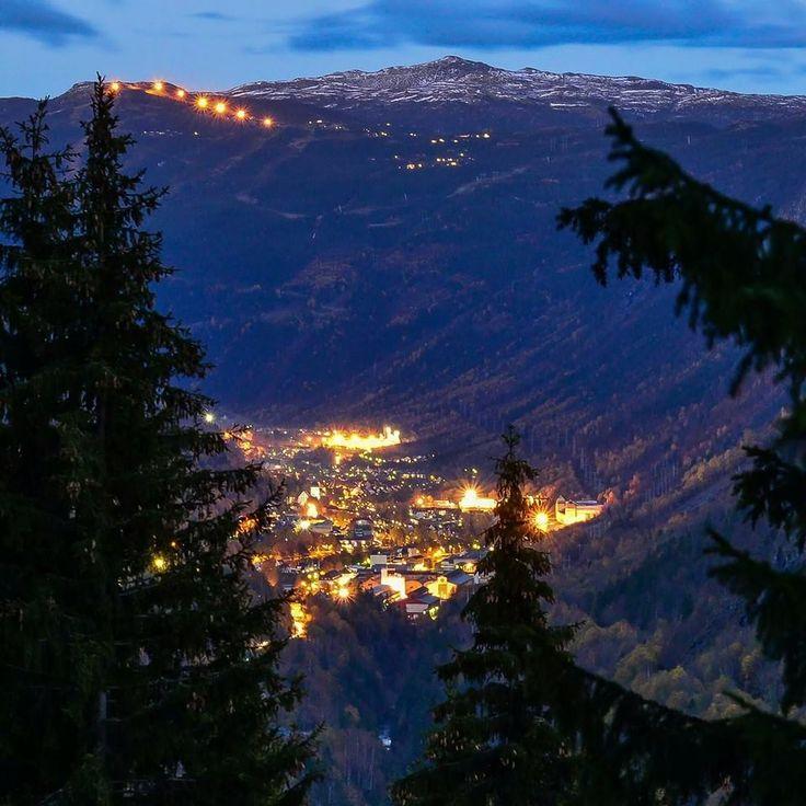 Oktoberglød - Rjukan