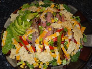 ... To Cook: Tequilla Lime Flank Steak Salad wtih Chili Lime Vinaigrette