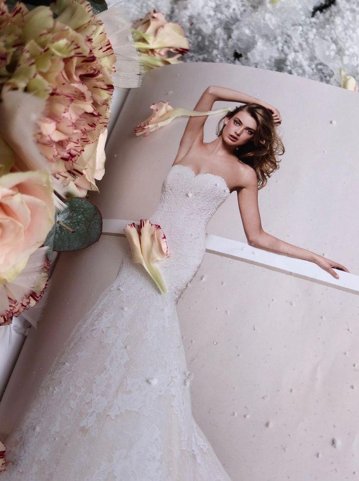 Brudekjoler fra Pronovias 🌿 http://www.fleurs.no/jeg-lar-brudebuk…n-sette-foringen