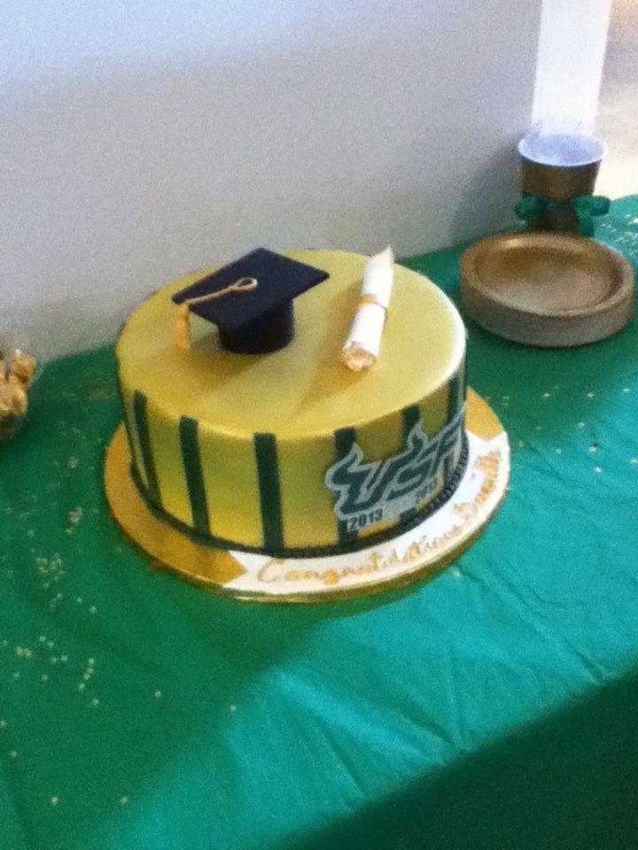 Usf Graduation Cakes
