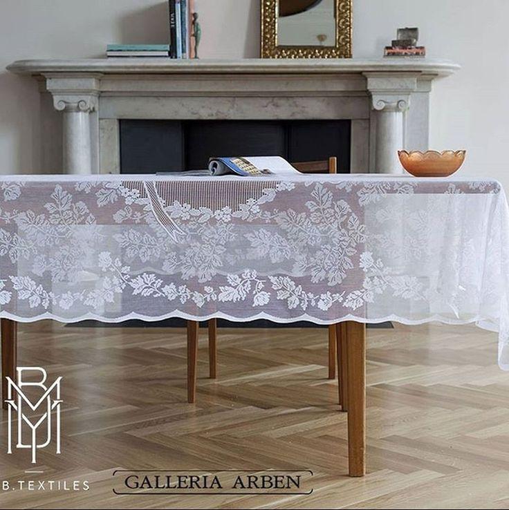 @mybtextiles1900 делают роскошные #скатерти, которые всегда есть в #Galleria_Arben #decoration #interiordesign