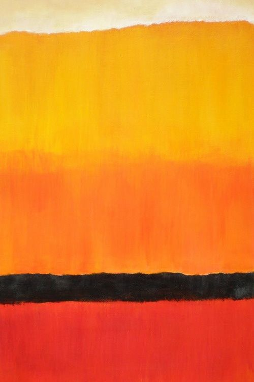 Rothko Detail #3 iPhone Wallpaper