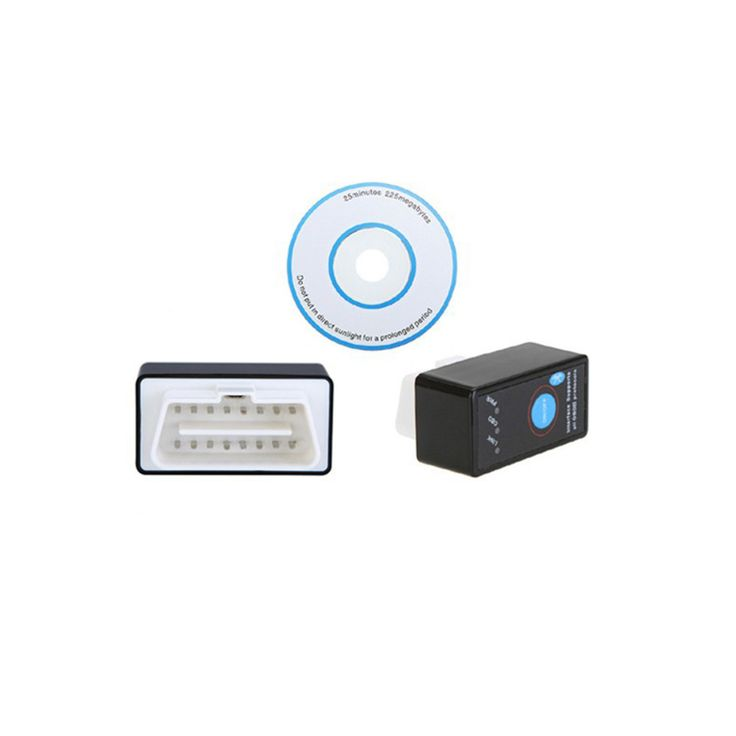 V2.1 MINI ELM327 Bluetooth Power Switch ELM 327 Version 2.1 OBD2 / OBDII for Android Torque Car Code Scanner FREE SHIPPING