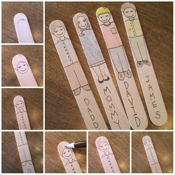 Occupation Housewife: DIY Popsicle Stick Family