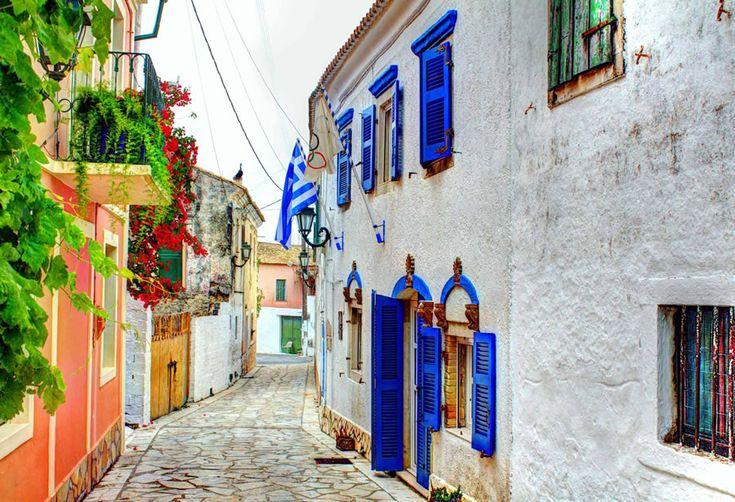 Lakones Village posted by Enjoy Corfu 14/2/2016