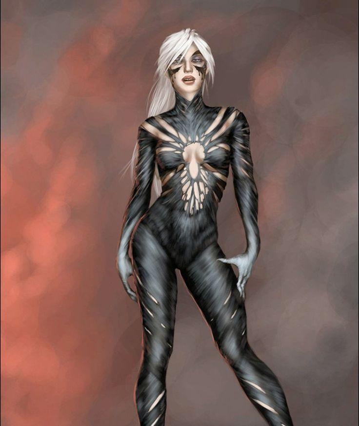 Symbiote Black Cat by ACM1899