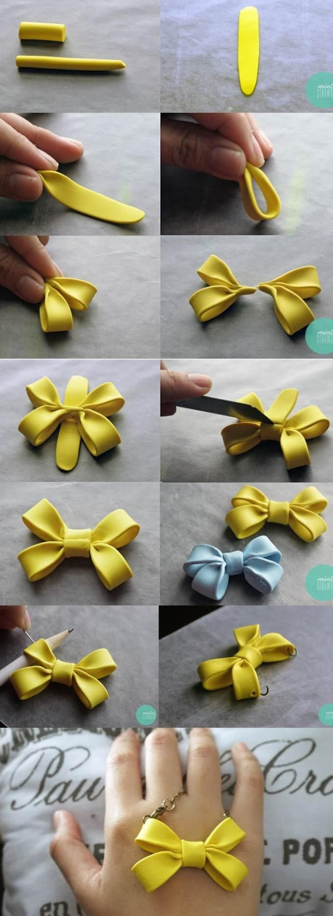 Double Bow Making Idea