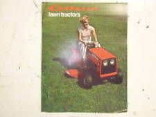 Gilson Lawn Mower Sales Brochure from 1978 Classic