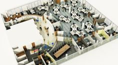 Office Space Planning: Office Space Design, Planning Office Workplaces | Interaction