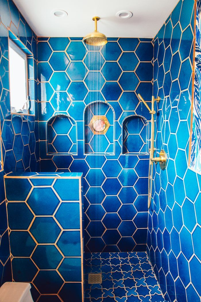 Justina Blakeney's Jungalicious Master Bathroom | Installation Gallery | Fireclay Tile
