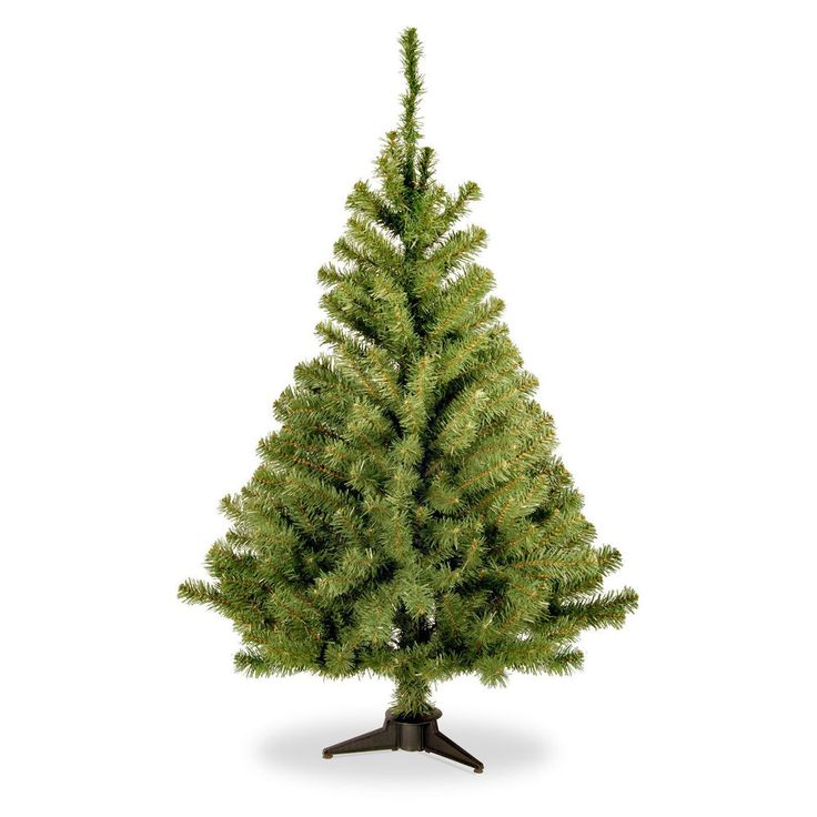 4ft FULL LOOK Christmas Tree Xmas New Year Green Artificial Pine EASY INSTALL 4' #NationalTree
