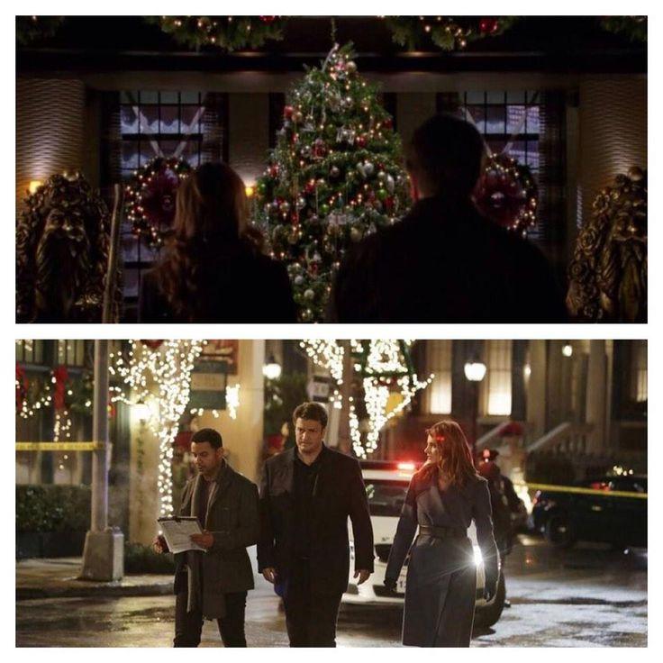 "#castle Monday last episode of 2014. "" secret Santa"" S5 bad santa #castleseason7 #NathanFillion #StanaKatic"