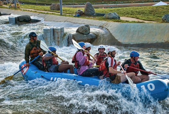 White Water Rafting at the US National Whitewater Center