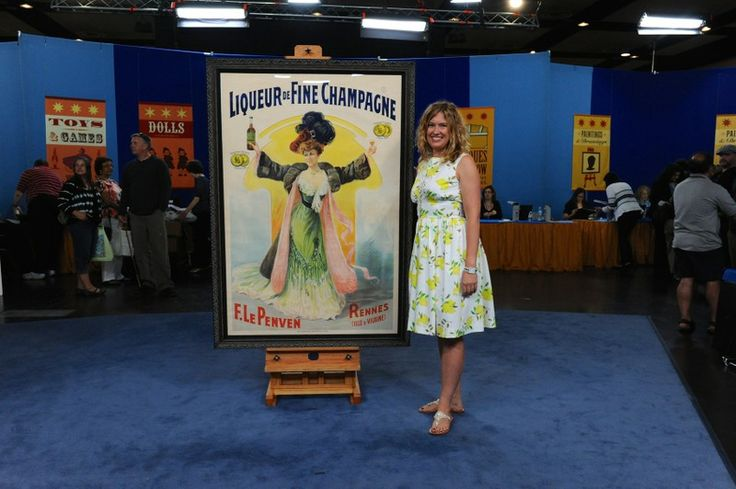 French Lithograph Poster, ca. 1910 | Antiques Roadshow | PBS