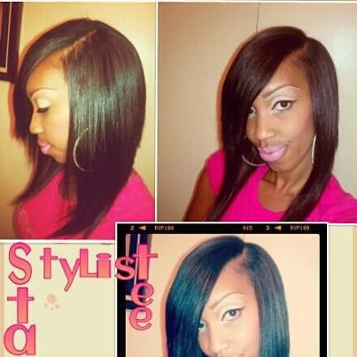Weave Bob Hairstyles With Side Part