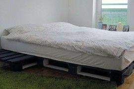 Podrobný návod na jednoduchou postel z palet