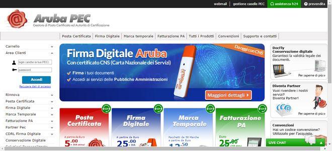 attivare un indirizzo di posta elettronica certificata (PEC) con Aruba | Soluzioni rapide