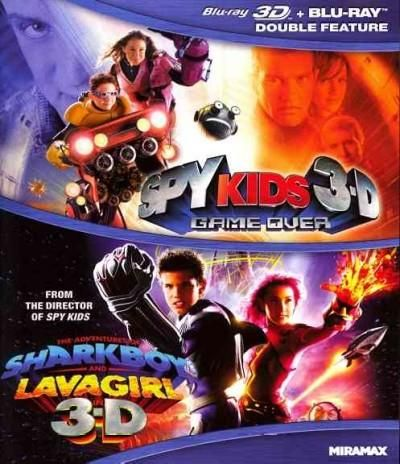 Spy Kids 3-D: Game Over/The Adventures Of Sharkboy And Lavagirl
