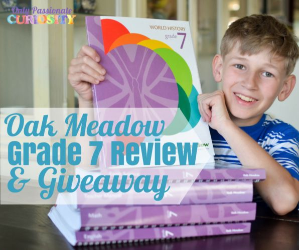 Oak Meadow Grade Seven Review